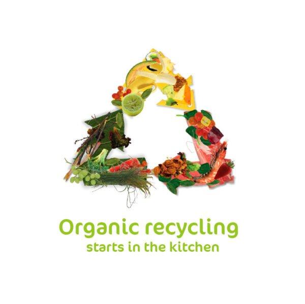 organic recycling logo